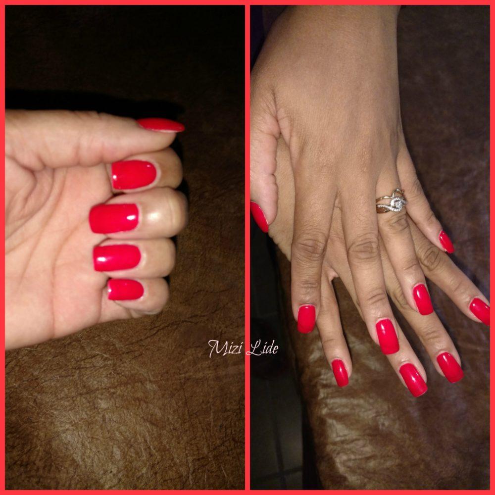 FerrariRed Hands