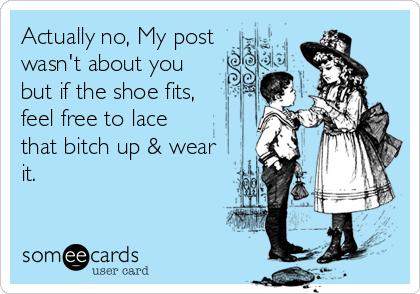 Shoe fit meme