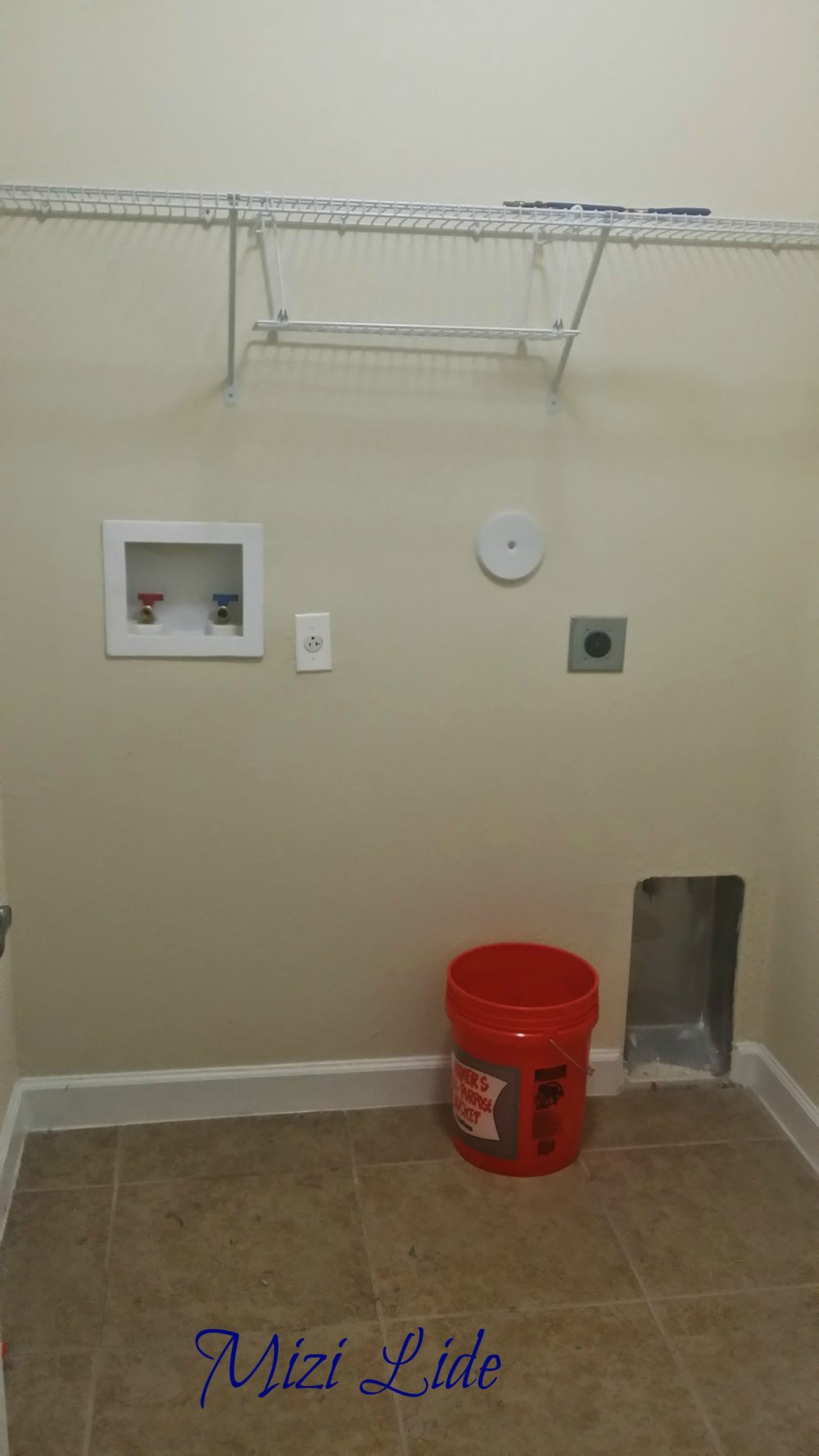empty laundry room