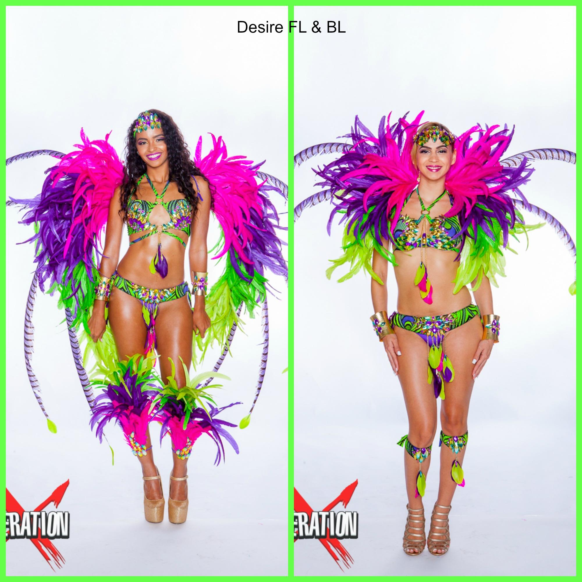 Desire FL & BL