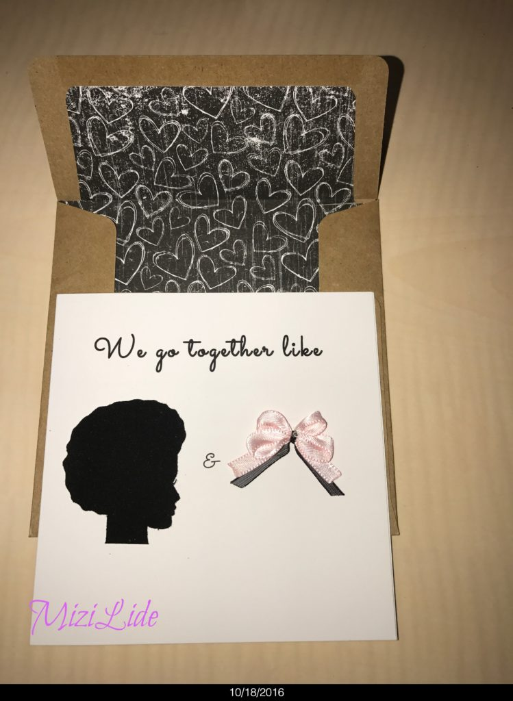 Front Valentine's Card